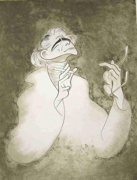 Leonard Bernstein by Al Hirschfeld